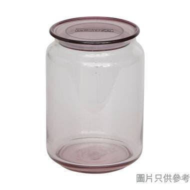 Luminarc 樂美雅RONDO玻璃密氣樽750ml - 藍色配紫色