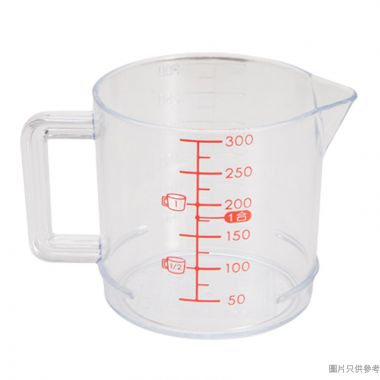 Inomata日本製塑膠量杯300ml