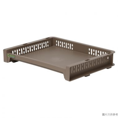 e-Rack日本製塑膠架 363W x 288D x 63Hmm - 啡色