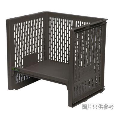 e-Rack日本製塑膠架 363W x 288D x 341Hmm - 啡色