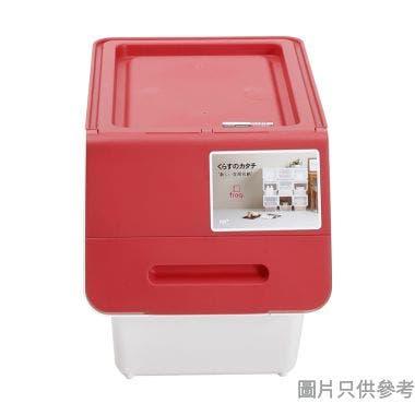 Froq日本製塑膠儲物箱 285W x 460D x 310Hmm (細)  - 糖果紅