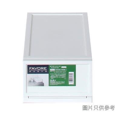 FAVORE日本製塑膠抽屜 180W x 360D x 123Hmm - 白色