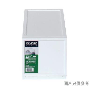 FAVORE日本製塑膠抽屜 180W x 360D x 183Hmm - 白色
