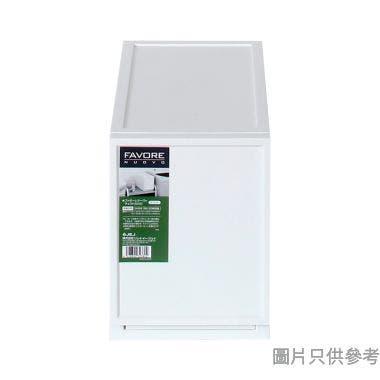 FAVORE日本製塑膠抽屜 180W x 360D x 243Hmm - 白色