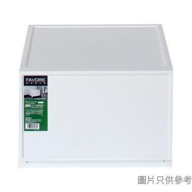 FAVORE日本製塑膠抽屜 360W x 360D x 243Hmm - 白色