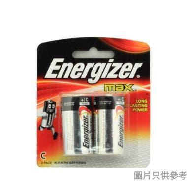 (091902)Energizer勁量鹼性電池(C 2粒裝)