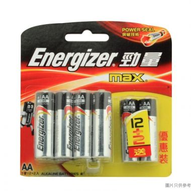 (202865)Energizer勁量2A 鹼性電池(12+2粒裝)