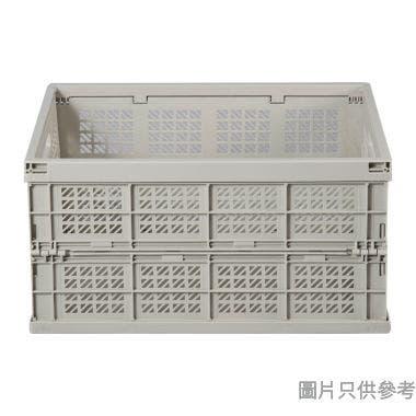 台灣製 SHUTER 27L 455W x 308D x 240Hmm 塑膠摺疊式收納箱