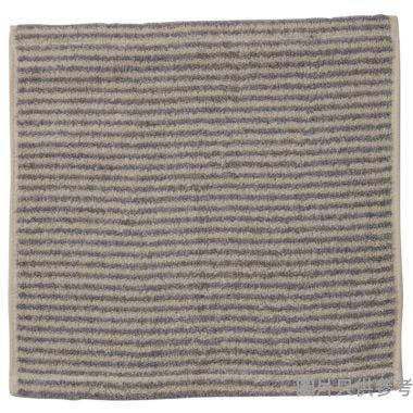 MILTON HOME CROTCHET 方巾,34x33cm,灰色,MT0011W