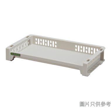 日本製 e-RACK 363W x 208D x 63Hmm 塑膠架 - 米色