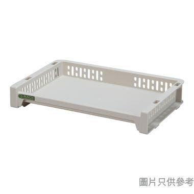 日本製 e-RACK 363W x 288D x 63Hmm 塑膠架 - 米色