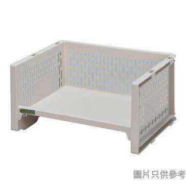 日本製 e-RACK 363W x 288D x 183Hmm 塑膠架 - 米色