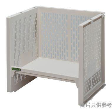 日本製 e-RACK 363W x 288D x 341Hmm 塑膠架 - 米色