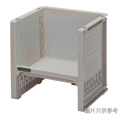 日本製 e-RACK 240W x 220D x 248Hmm 塑膠架 - 米色