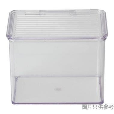 INTERDESIGN塑膠廚用收納箱附蓋 170W x 140D x 125Hmm