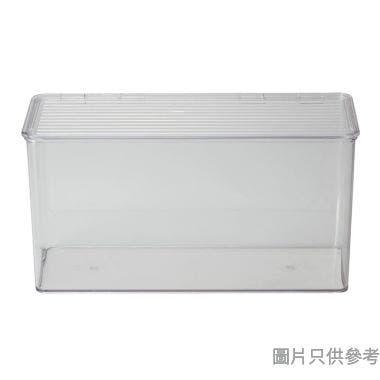 INTERDESIGN塑膠廚用收納箱附蓋 340W x 140D x 180Hmm