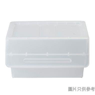 Froq日本製塑膠儲物箱 570W x 460D x 310Hmm (大)  - 透明色