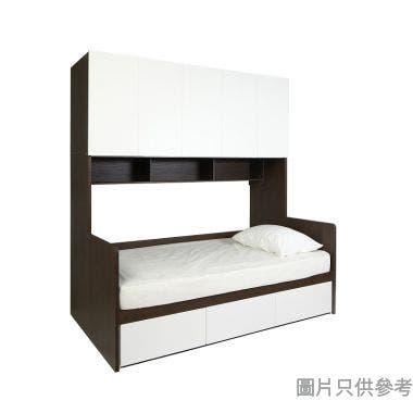 STAPLE 三櫃桶連五門衣櫃組合床950W x 1890D x 2200Hmm