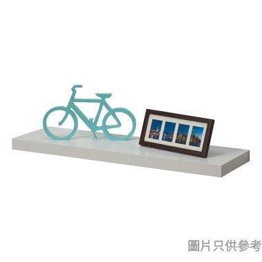 掛牆層板1200W x 235D x 25Hmm - 白橡色
