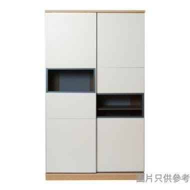 STAPLE 雙趟門薄身衣櫃框1200W x 400D x 2050Hmm