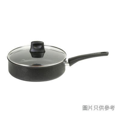 Tefal特福法國製Chef Delight易潔深型煎鍋附蓋24cm(電磁爐適用)