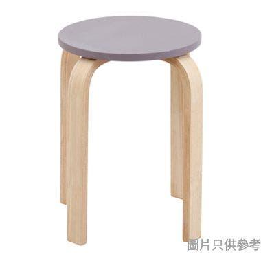 VOLTO 實木圓疊凳330D x 450Hmm - 紫色