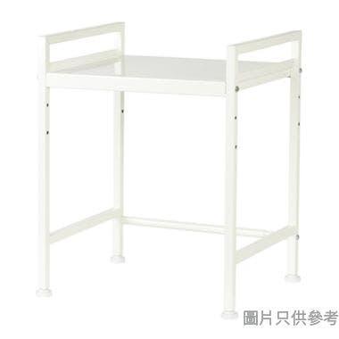 MODUS金屬伸縮2層廚用架 405-650W x 335D x 480Hmm - 白色