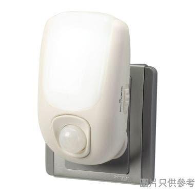 ELPA人體/明暗感應LED燈自動轉色(5色)PM-L500