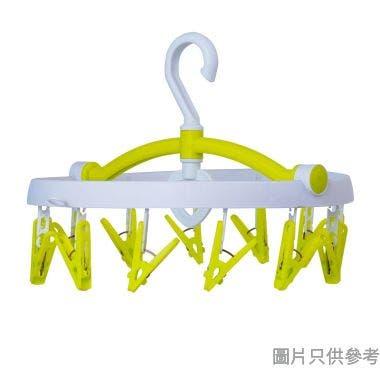 KOKUBO小久保日本製12夾塑膠曬衣架 210W x 140L x 55Hmm- 白色