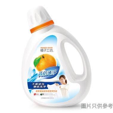 橘子工坊天然濃縮洗衣精高倍速淨 - 2200 毫升