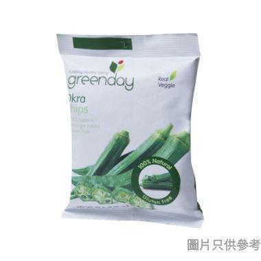 Greenday秋葵脆條 25g