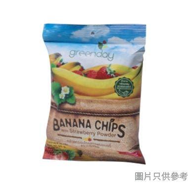 Greenday香蕉脆片 20g - 士多啤梨味