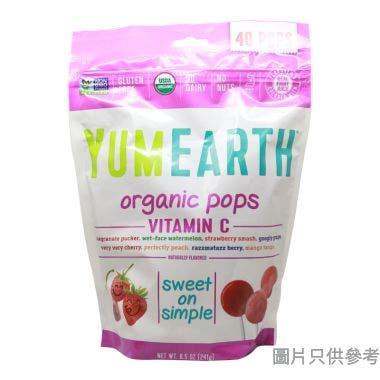 YUMMY EARTH有機維他命C棒棒糖-241克