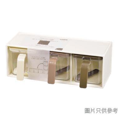 Pearl Life日本製3個調味盒310W x 155D x 110Hmm