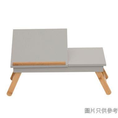 竹木輕便檯面調節電腦檯 535W x 335D x 200Hmm - 天然木色