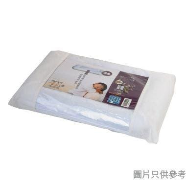 SN 兒童蕎麥保健枕,36x52cm,612g,蕎麥包45g,白色全滌