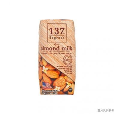137Degrees原味杏仁奶 180ml
