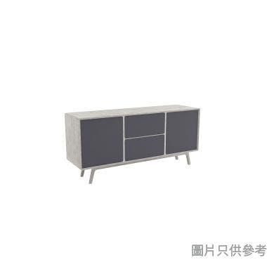 MIAMI 雙門兩櫃桶儲物櫃1600W x 450D x 750Hmm