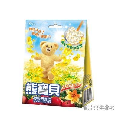 熊寶貝繽紛花果香氛袋 21g