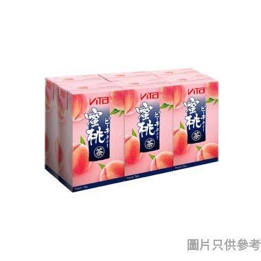 維他日式蜜桃茶 250ml (6包裝)