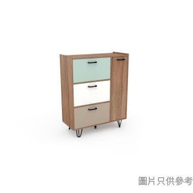 OPUS 單門三櫃桶儲物櫃800W x 350D x 1000Hmm