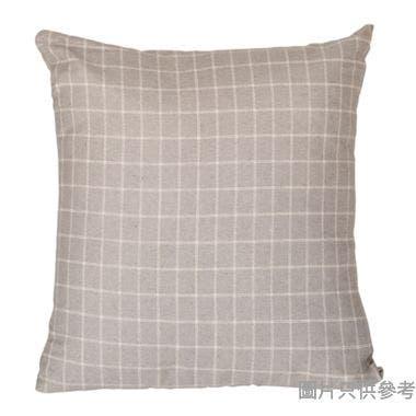 SOHO NOVO方形抱枕430W x 430Dmm - 灰色格仔