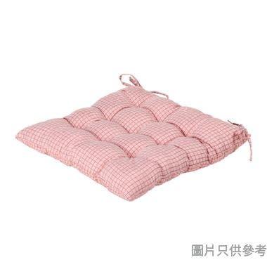 SOHO NOVO方形坐墊430W x 430Dmm - 粉紅色格仔