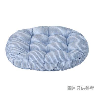 SONO NOVO圓形坐墊 550W x 550Dmm - 藍色條紋