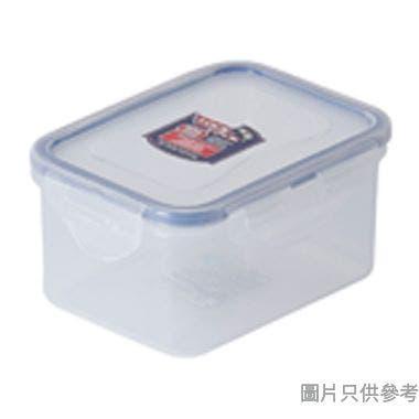 LOCK & LOCK塑膠長方形食物盒470ml 135W x 102D x 68Hmm(微波爐適用)