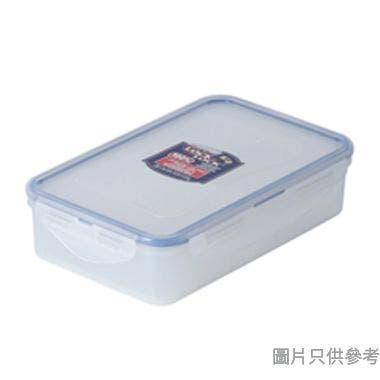 LOCK & LOCK塑膠長方形食物盒連活動格800ml 205W x 134D x 52Hmm(微波爐適用)