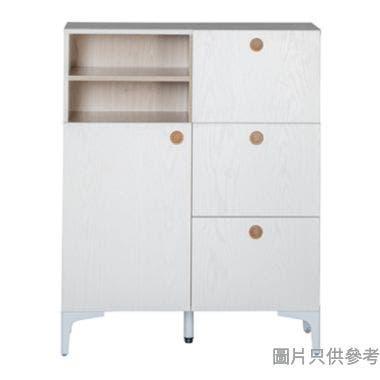 GINO 單門三櫃桶儲物櫃800W x 350D x 1000Hmm