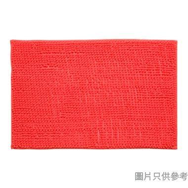 短毛浴室地墊400W x 600Dmm - 粉紅色