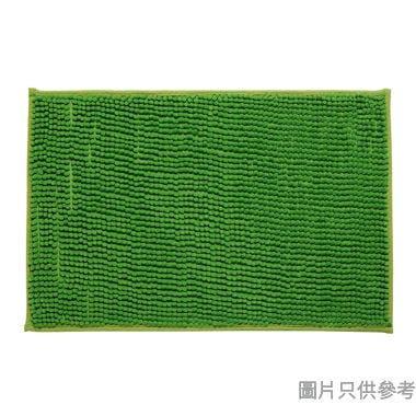 短毛浴室地墊400W x 600Dmm - 綠色