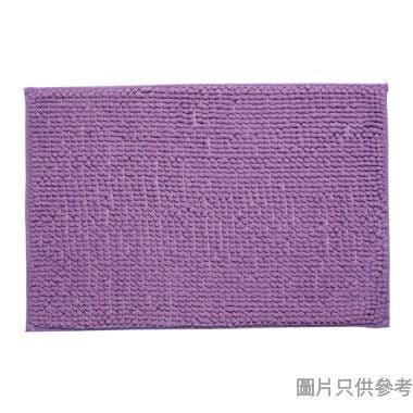短毛浴室地墊400W x 600Dmm - 紫色